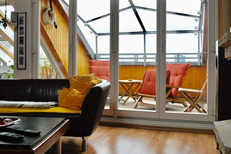 Schöne Dachterrassen-Wohnung in bester Lage