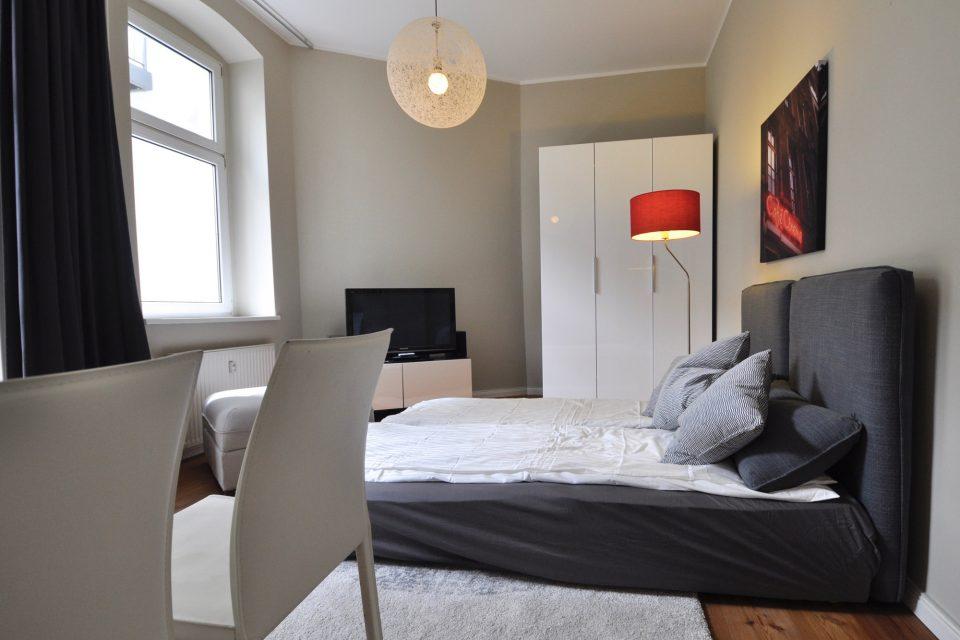 Modern eingerichtete Wohnung in Prenzlauer Berg