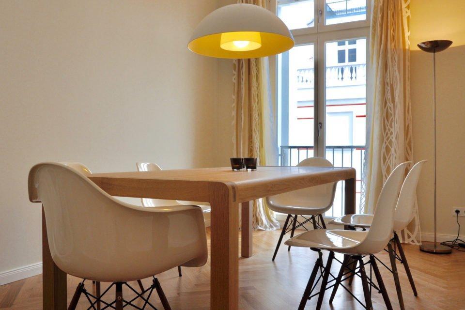 Stilvoll ausgestattete Wohnung am Kollwitzplatz