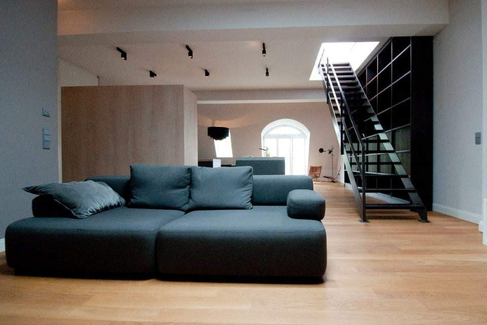 Unique attic flat with rooftop terrace with sensational view