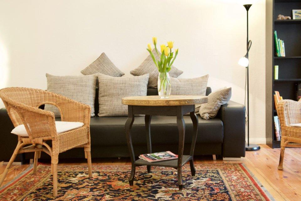 Handjerystraße Repräsentative 2-Zimmer-Wohnung mit direktem Gartenzugang