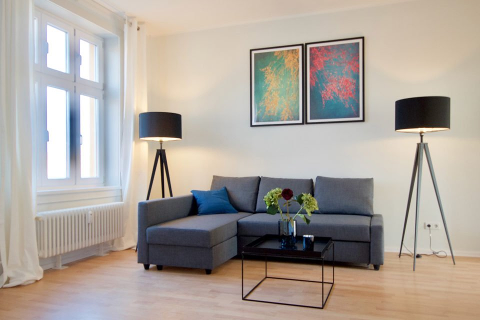 Modernly furnished 2-room-apartment in Mitte
