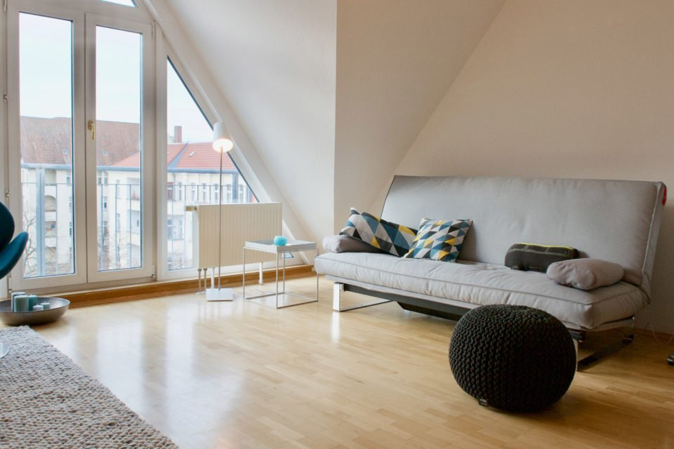 Enchanting 1-room apartment directly at Boddinplatz