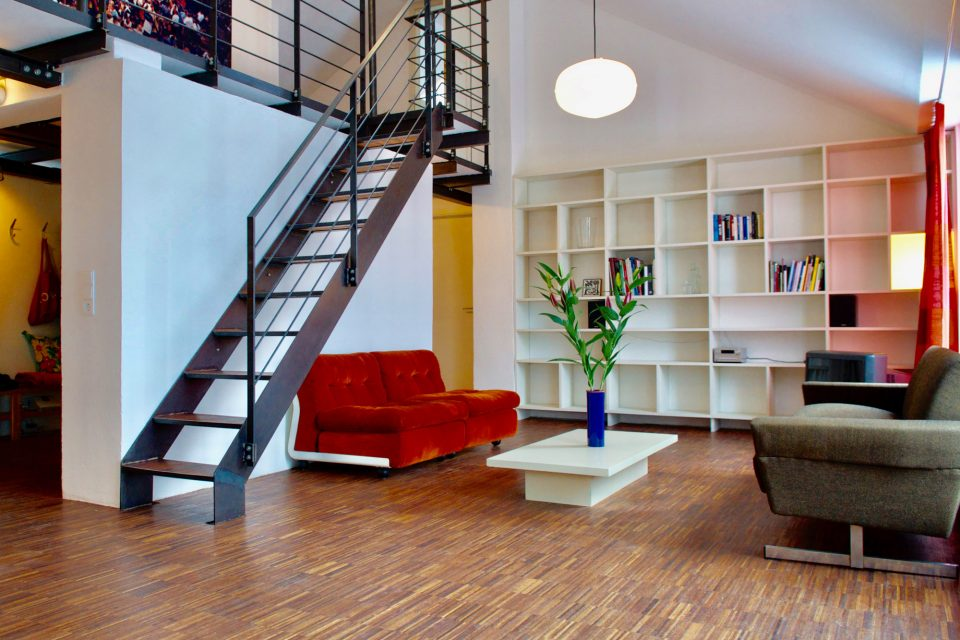 Bright attic maisonette-flat with a fantastic view over Berlin