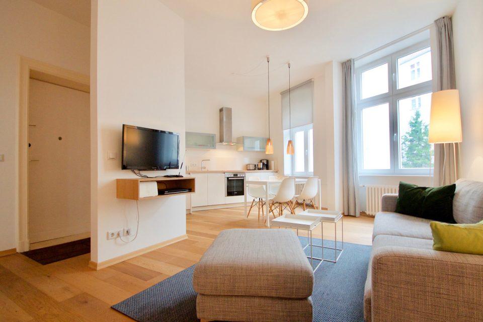 Fechnerstraße Bezaubernde 2-Zimmer-Wohnung in ruhiger Wohngegend – inspired by HIIH