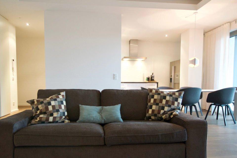 Exklusive Wohnung mit 2 Balkonen und Fitnessbereich im Haus Spreegold