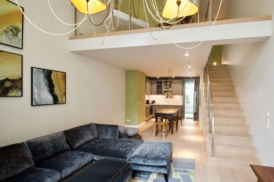 Wunderschöne Maisonette-Wohnung mit Galerie im Haus Cumberland