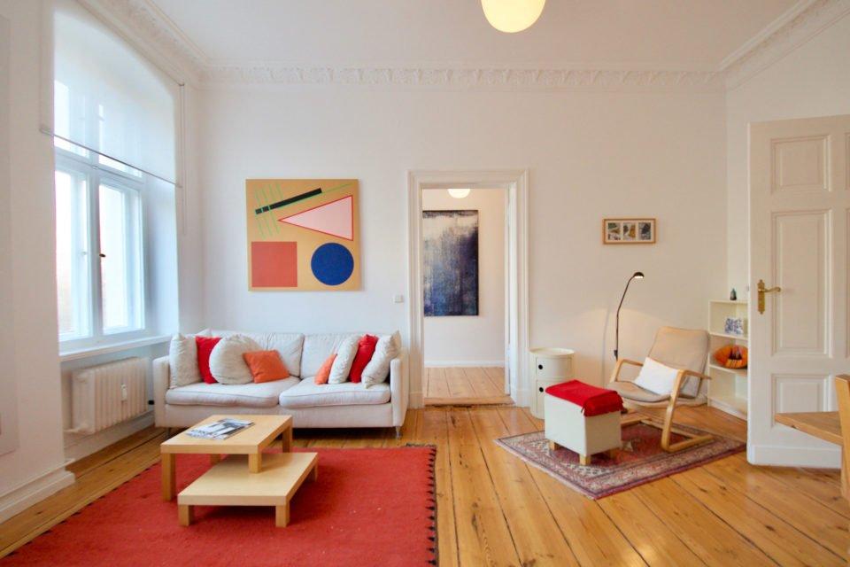 Bright 3-room-apartment in Kreuzberg