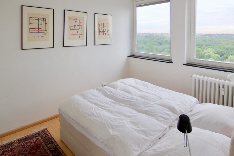 Friendly apartment with a magnificent view across Berlin