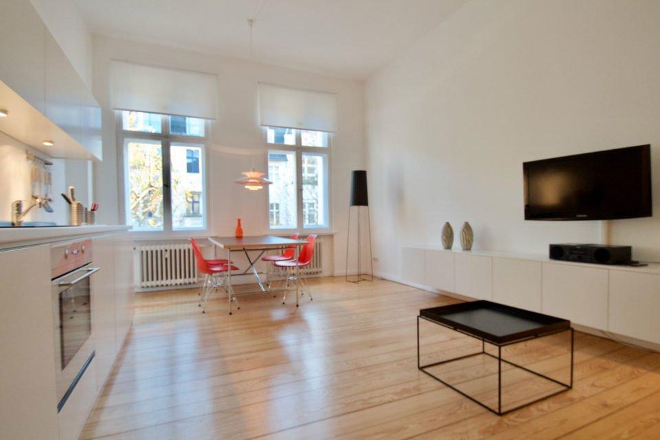 Helle und modern eingerichtete 1.5-Zimmer-Wohnung