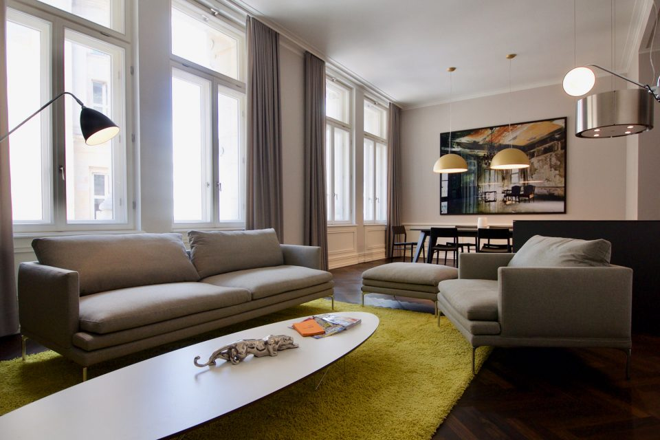 Exclusive 2-room-apartment with terrace at Brandenburger Tor
