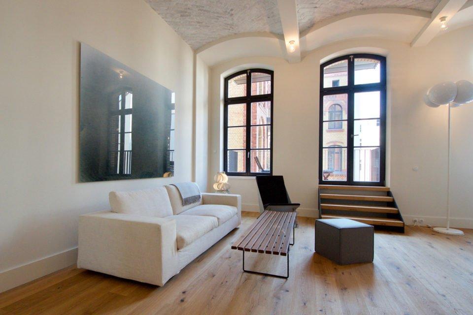 Fantastic loft with balcony in Opernloft