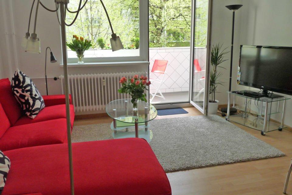 Idyllische 2-Zimmer-Wohnung mit sonnigem Balkon