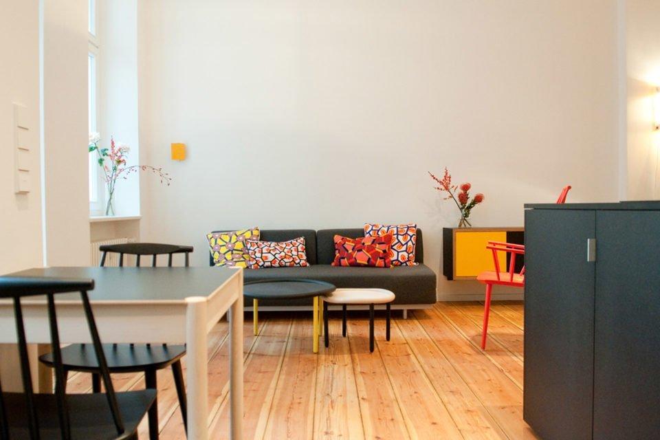 Geschmackvoll eingerichtete 2-Zimmer-Wohnung in Kreuzberg