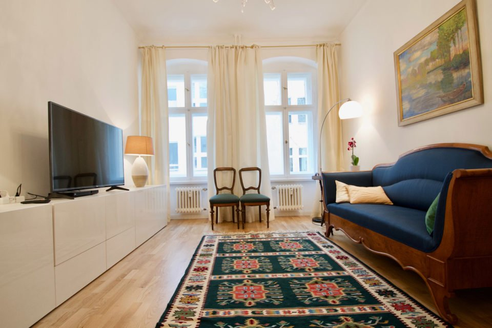 Charming 2-room-apartment close to Charlottenburg Palace