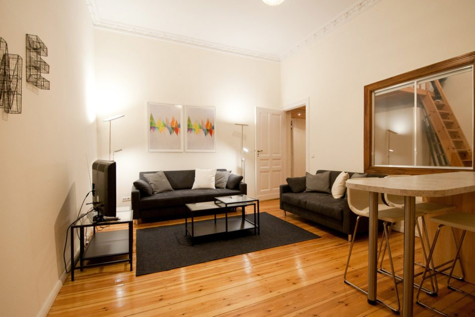 Cosy apartment in an old building in a great area