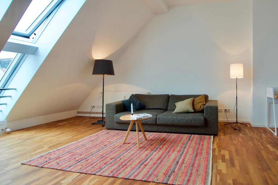 Sensational attic apartment in a popular area in Prenzlauer Berg