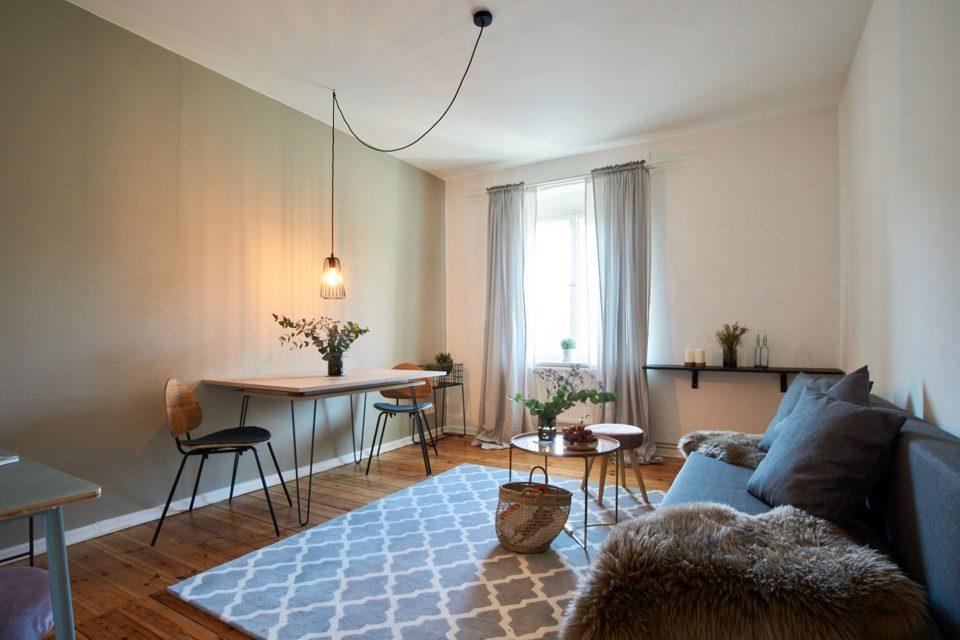 Nordic Style – Geschmackvoll eingerichtete 2-Zi.-Whg. in Prenzlauer Berg